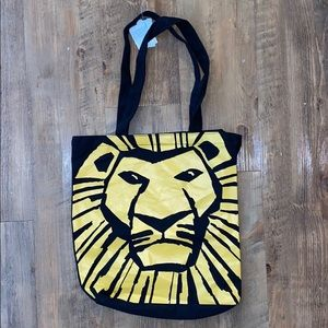 FREE GIFT WITH ANY PURCHASE! Lion king tote bag!